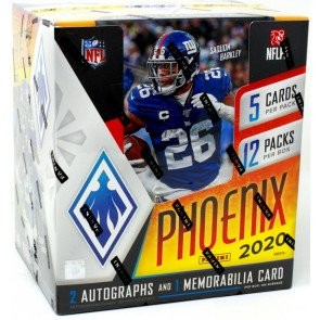 2020 Panini Phoenix Football Hobby 16 Box Case
