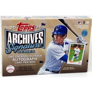2020 Topps Archives Signature Series Baseball 20 Box Case