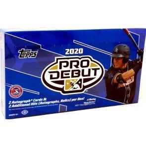 2020 Topps Pro Debut Baseball Hobby 12 Box Case