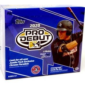 2020 Topps Pro Debut Baseball Jumbo 8 Box Case