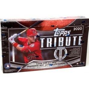 2020 Topps Tribute Baseball Hobby 6 Box Case