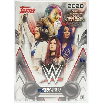 2020 Topps WWE Women's Division Hobby 8 Box Case