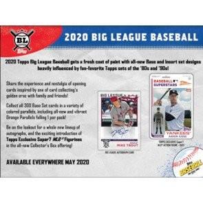 2020 Topps Big League Baseball Hobby 20 Box Case