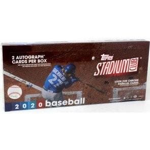 2020 Topps Stadium Club Baseball Hobby 16 Box Case