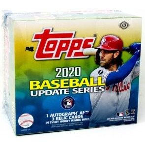 2020 Topps Update Series Baseball Jumbo 6 Box Case