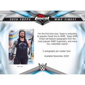 2020 Topps WWE Finest Wrestling Hobby Box