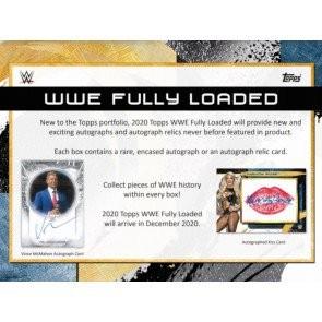 2020 Topps WWE Fully Loaded Wrestling Hobby 20 Box Case