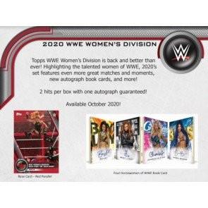 2020 Topps WWE Women's Division Hobby Box