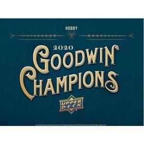 2020 Upper Deck Goodwin Champions Hobby 8 Box Case
