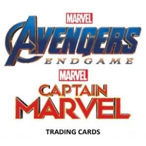 2020 Upper Deck Marvel Avengers End Game & Captain Marvel Box