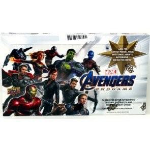 2020 Upper Deck Marvel Avengers End Game & Captain Marvel 8 Box Case