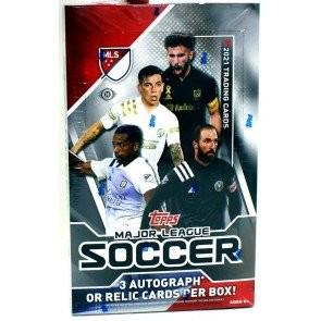 2021 Topps MLS Soccer Hobby 12 Box Case