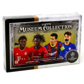 2020/21 Topps UEFA Champions League Museum Collection Soccer 12 Box Case