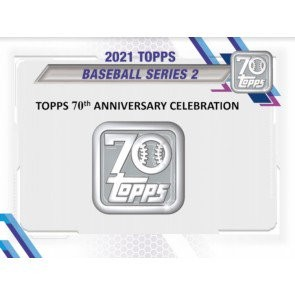 2021 Topps Series 2 Baseball Hobby 12 Box Case