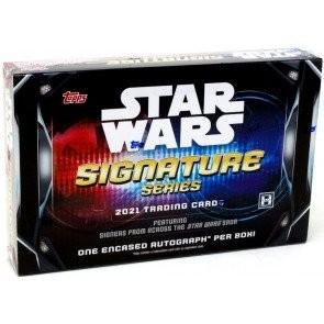 2021 Topps Star Wars Signature Series 20 Box Case