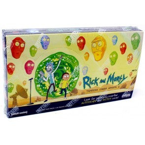 Rick & Morty Season 2 Trading Cards (Cryptozoic) - 12 Box Case
