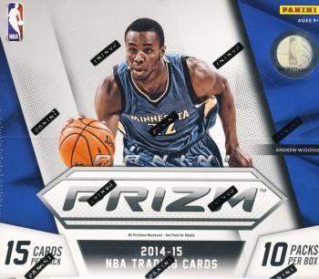 2014/15 Panini Prizm Basketball Jumbo 8 Box Case