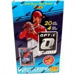 2018 Panini Donruss Optic Baseball Hobby Box