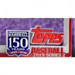 2019 Topps Series 2 Baseball Jumbo 6 Box Case + 12 Silver Packs