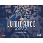 2019 Panini Luminance Football Hobby 12 Box Case