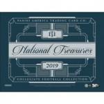 2019 Panini National Treasures College Football Hobby 4 Box Case