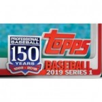 2019 Topps Series 1 Baseball Jumbo 6 Box Case + 12 Silver Packs