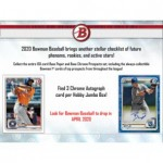 2020 Bowman Baseball Jumbo HTA 8 Box Case
