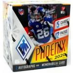 2020 Panini Phoenix Football Hobby 8 Box Case