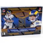2020 Panini Plates & Patches Football Hobby 12 Box Case