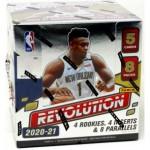 2020/21 Panini Revolution Basketball Hobby 8 Box Case