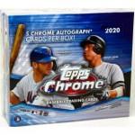 2020 Topps Chrome Baseball Jumbo HTA Box