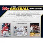 2020 Topps Update Series Baseball Hobby 12 Box Case