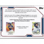 2021 Bowman Chrome Baseball LITE 16 Box Case