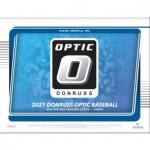 2021 Panini Donruss Optic Baseball Hobby 12 Box Case