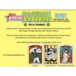 2021 Topps Heritage High Number Baseball Hobby 12 Box Case