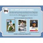 2021 Topps Archives Baseball Hobby Box