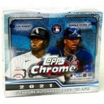 2021 Topps Chrome Baseball Jumbo HTA Box