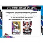 2021 Topps Finest Baseball Hobby 8 Box Case