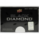 2020/21 Upper Deck Black Diamond Hockey Hobby Box