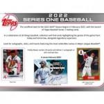 2022 Topps Series 1 Baseball Hobby 12 Box Case