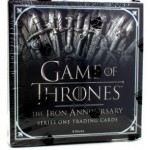 Game of Thrones Iron Anniversary Series 1 Trading Cards - Box