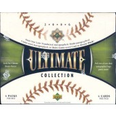 2006 Upper Deck Ultimate Collection Baseball Hobby 4 Box Case