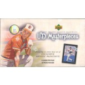 2007 Upper Deck Masterpieces Baseball Hobby Box