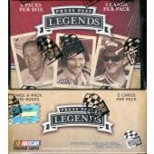 2009 Press Pass Legends Racing Hobby 12 Box Case