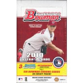 2010 Bowman Baseball Jumbo (HTA) 8 Box Case