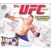 2010 Topps UFC Series 4 Hobby 12 Box Case