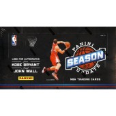 2010/11 Panini Season Update Basketball Hobby 20 Box Case