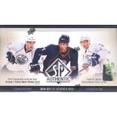 2010/11 Upper Deck SP Authentic Hockey Hobby Box