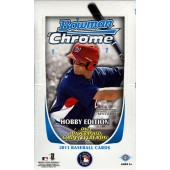 2011 Bowman Chrome Baseball Hobby 12 Box Case