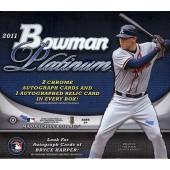 2011 Bowman Platinum Baseball Hobby Box